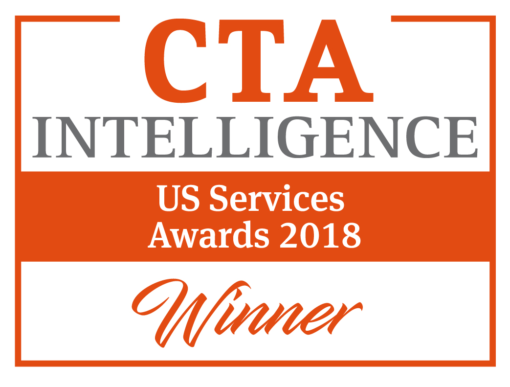 Winner 2018 CTA Intelligence US Services Award - Best FCM - Technology